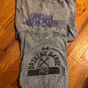 Under Armour T-shirt's